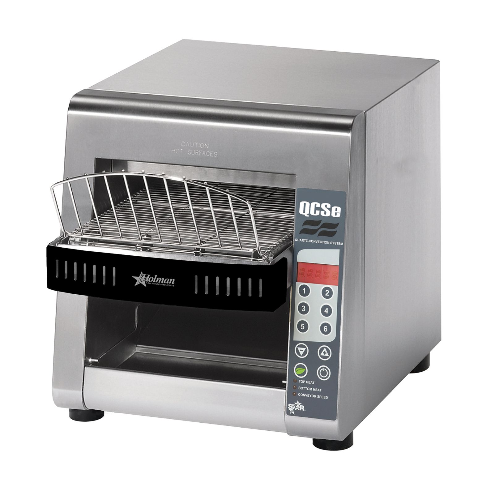Star QCSE2-500 toaster, conveyor type