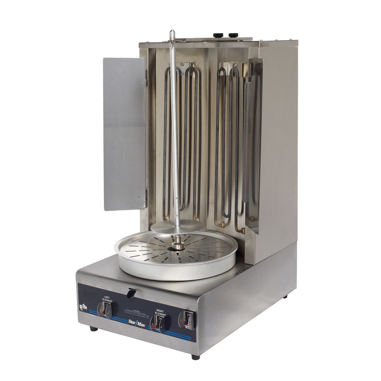 Star VBE30 vertical broiler (gyro), electric