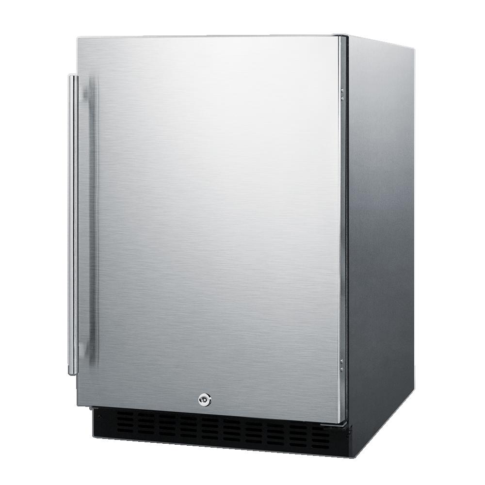 Summit Appliance AL54CSS refrigerator, undercounter, reach-in