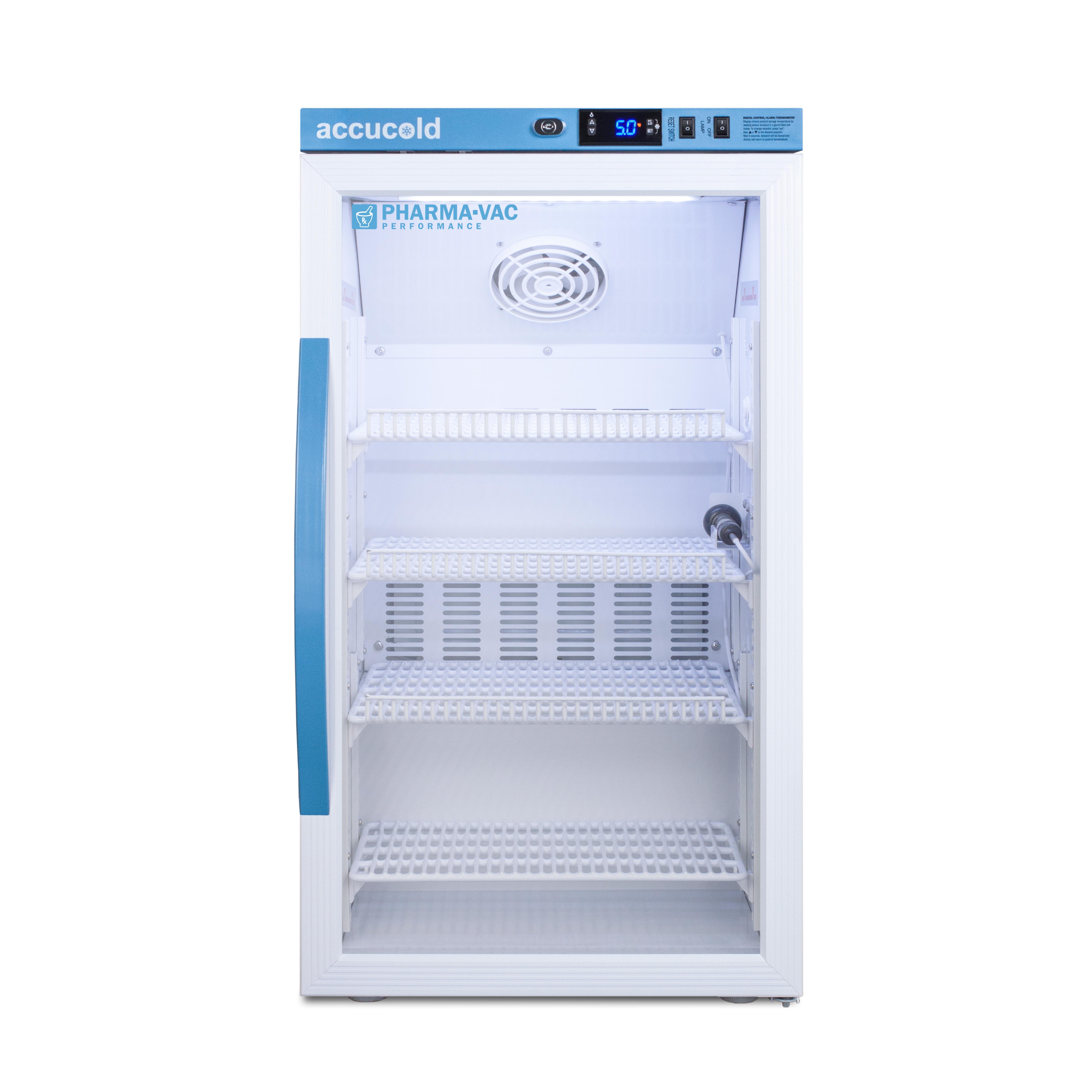 Summit Appliance ARG3PV refrigerator, medical