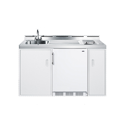 Summit Appliance C60ELGLASS kitchenette