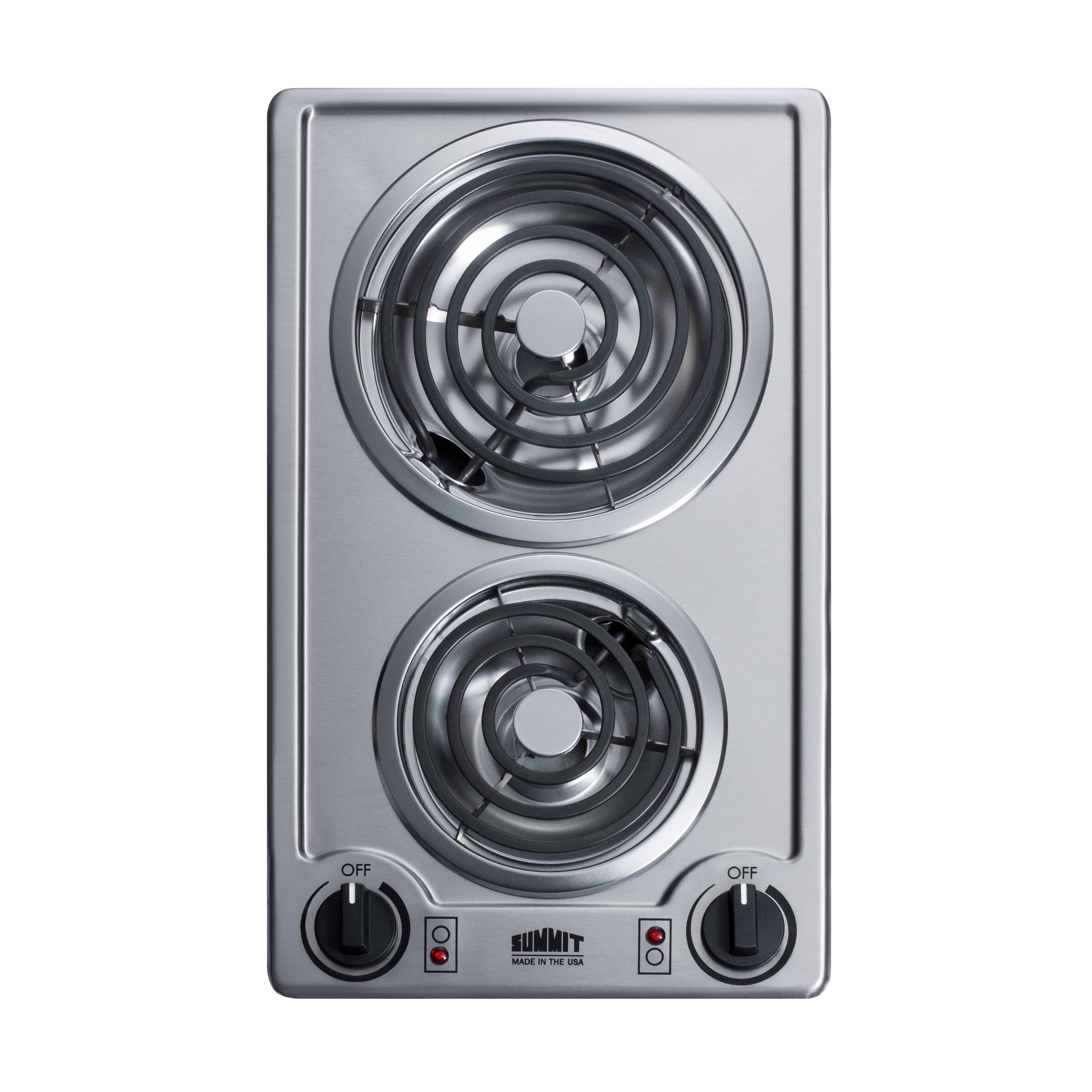 Summit Appliance CCE213SS hotplate, built-in, electric