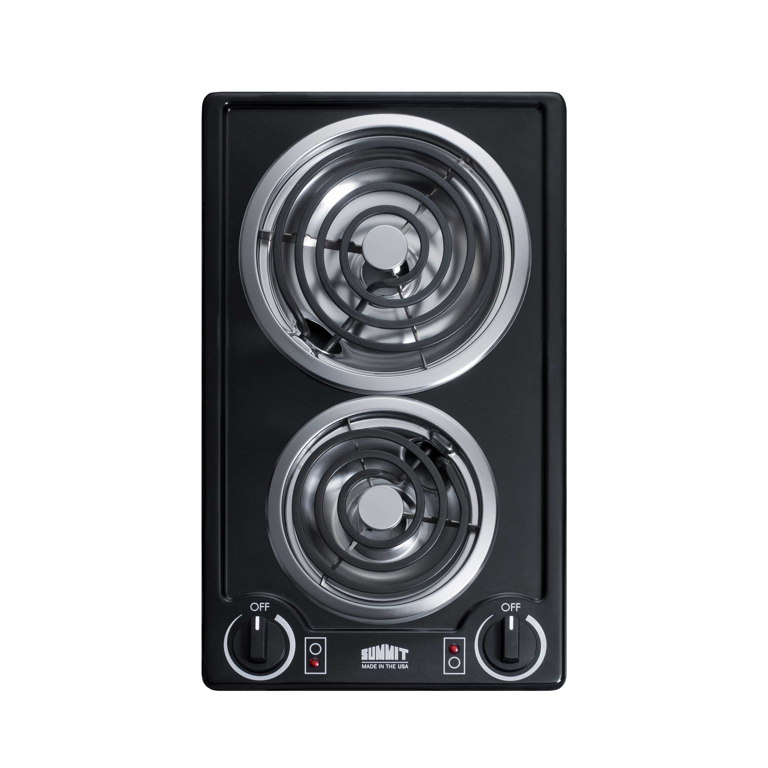 Summit Appliance CCE226BL hotplate, built-in, electric