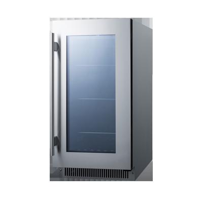 Summit Appliance CL181WBVCSS refrigerator, merchandiser, countertop