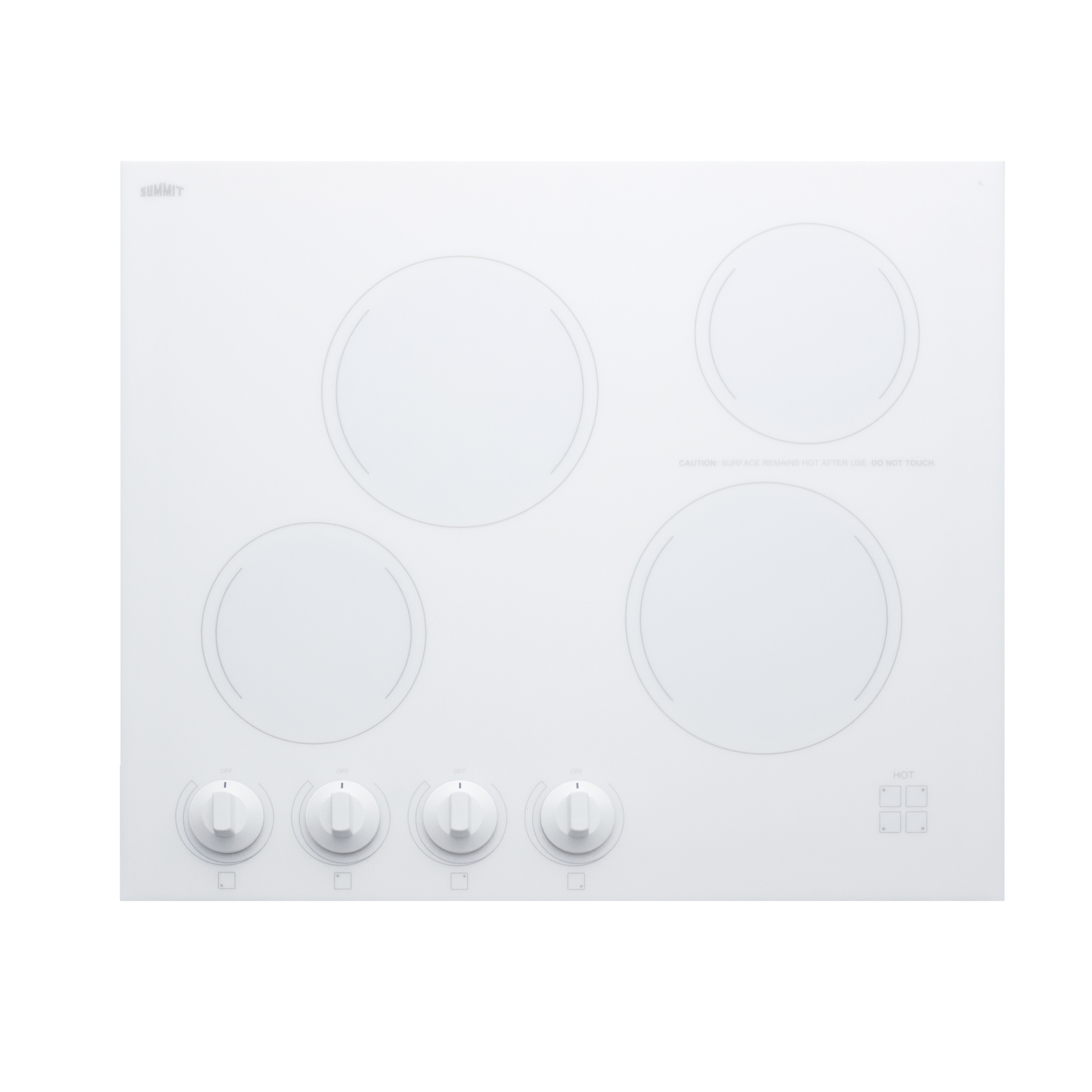 Summit Appliance CREK4W hotplate, built-in, electric