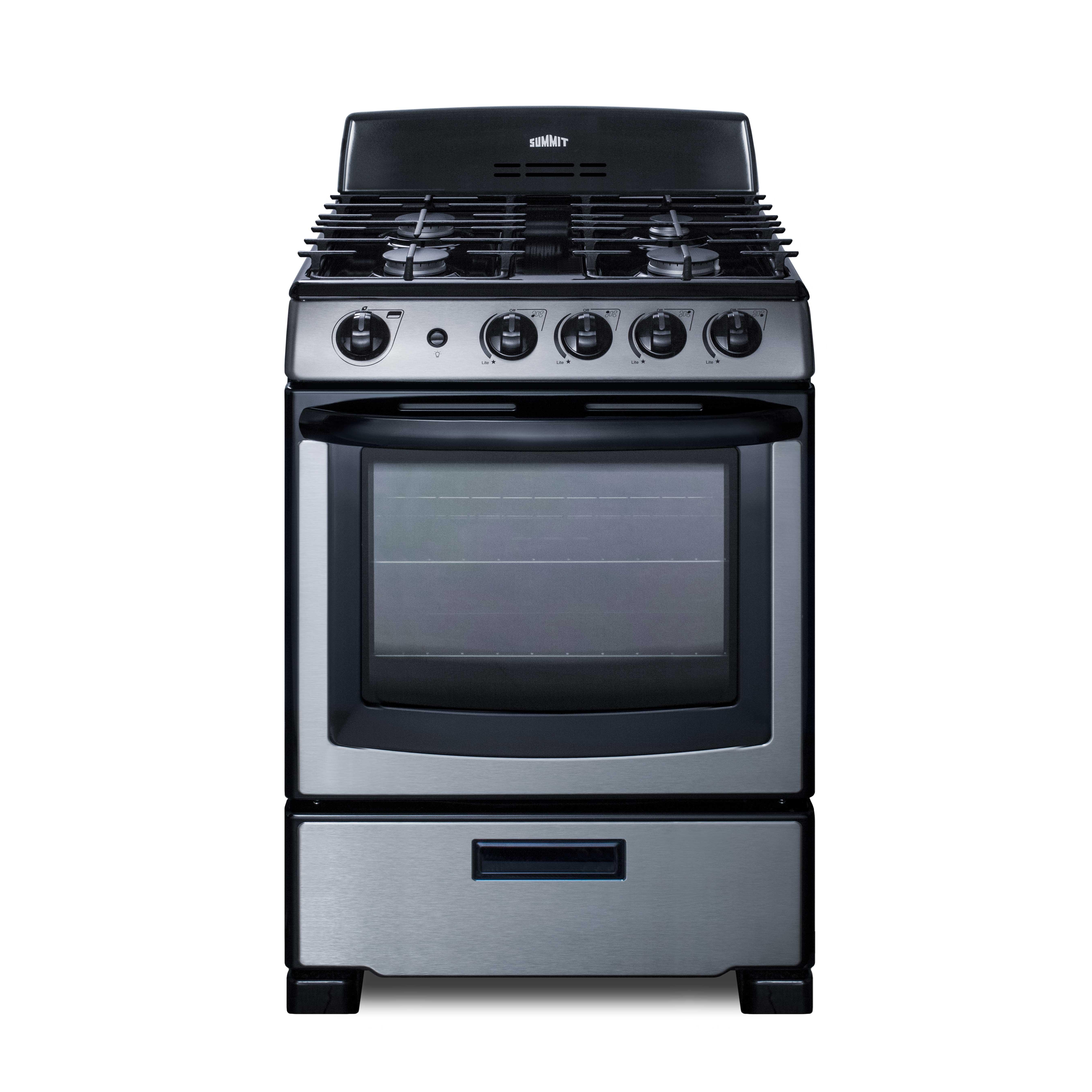 Summit Appliance PRO247SS range, residential domestic