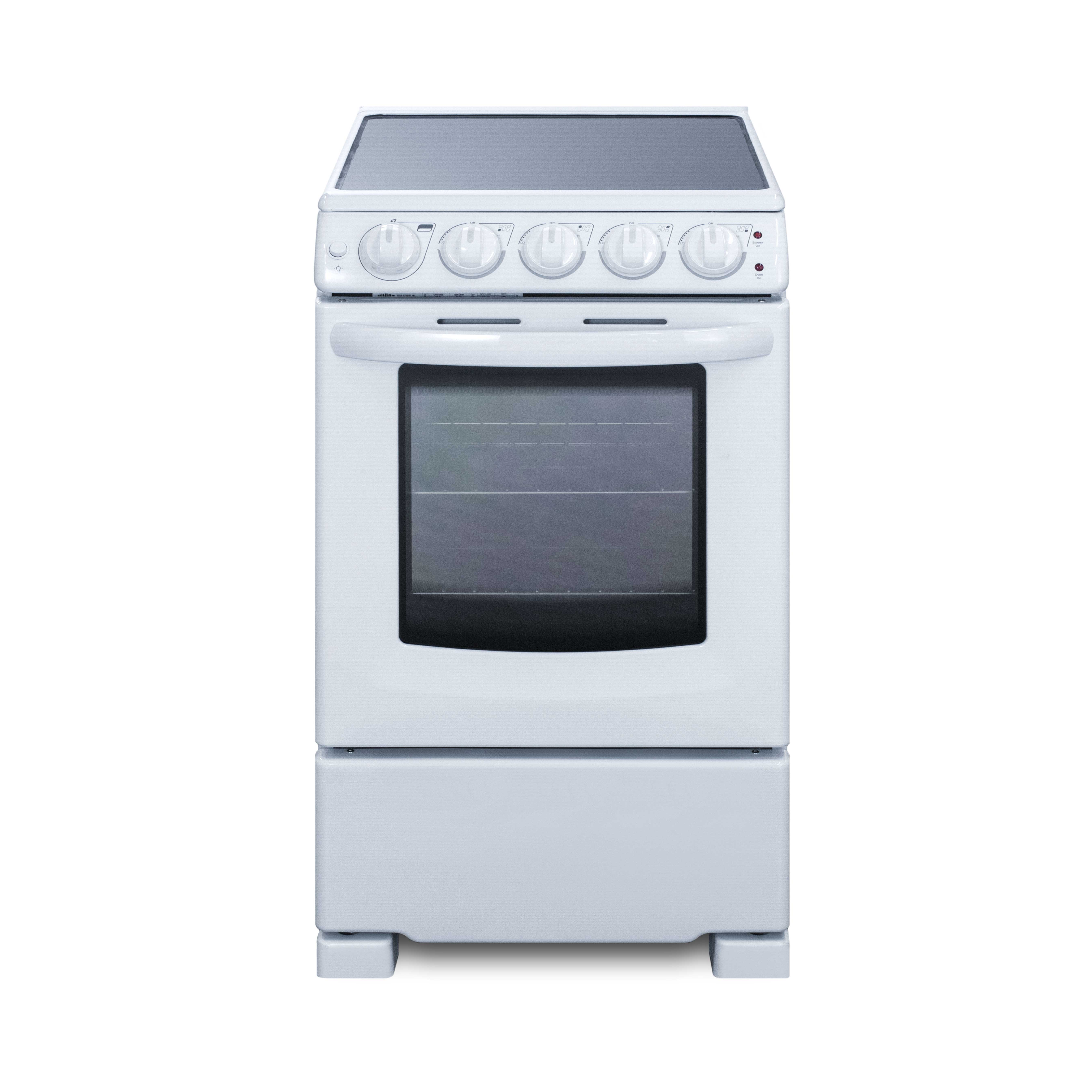 Summit Appliance REX2051WRT range, residential domestic