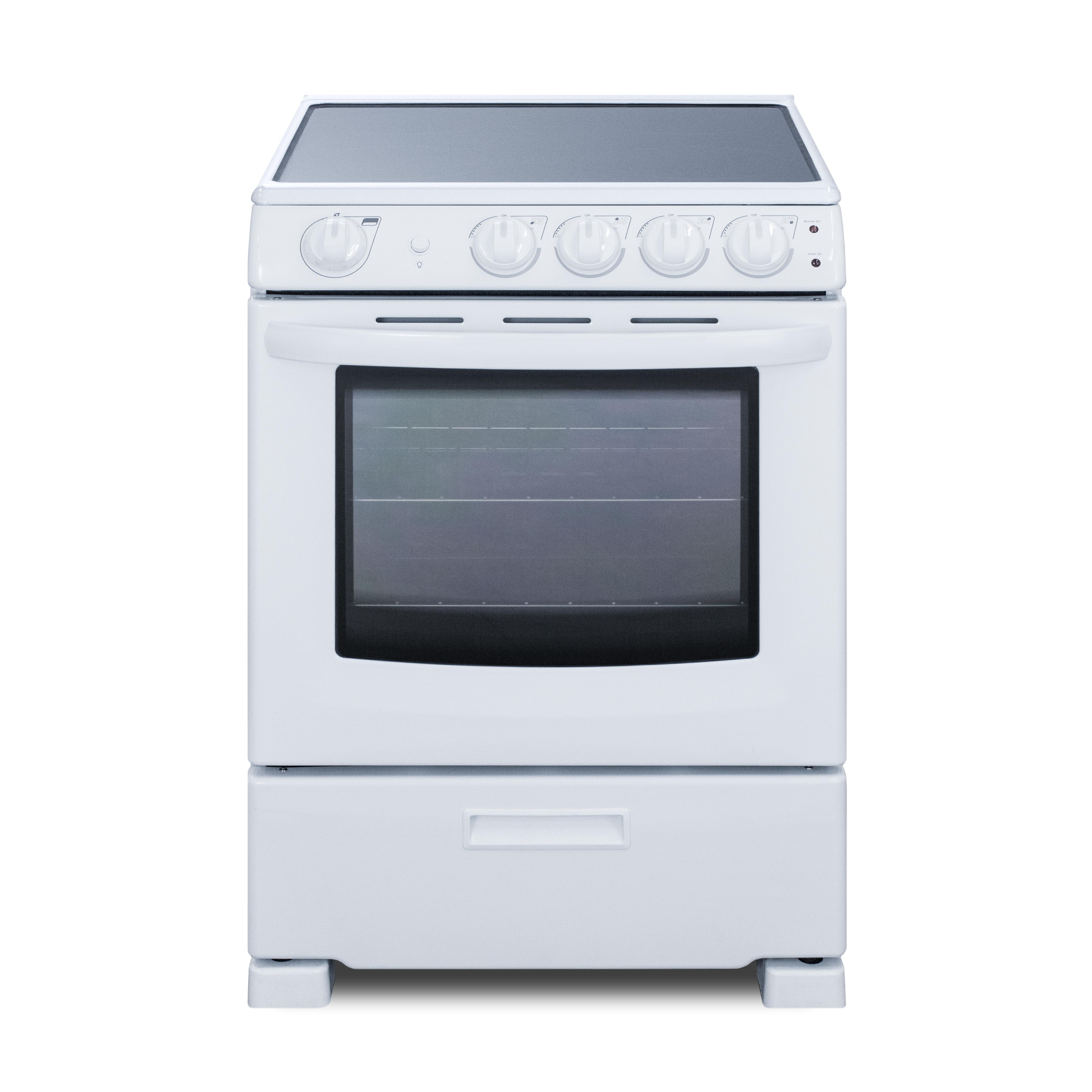 Summit Appliance REX2421WRT range, residential domestic