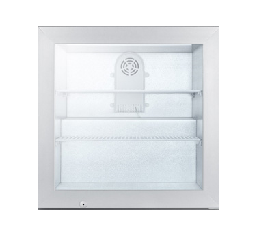Summit Appliance SCFU386 freezer, merchandiser, countertop