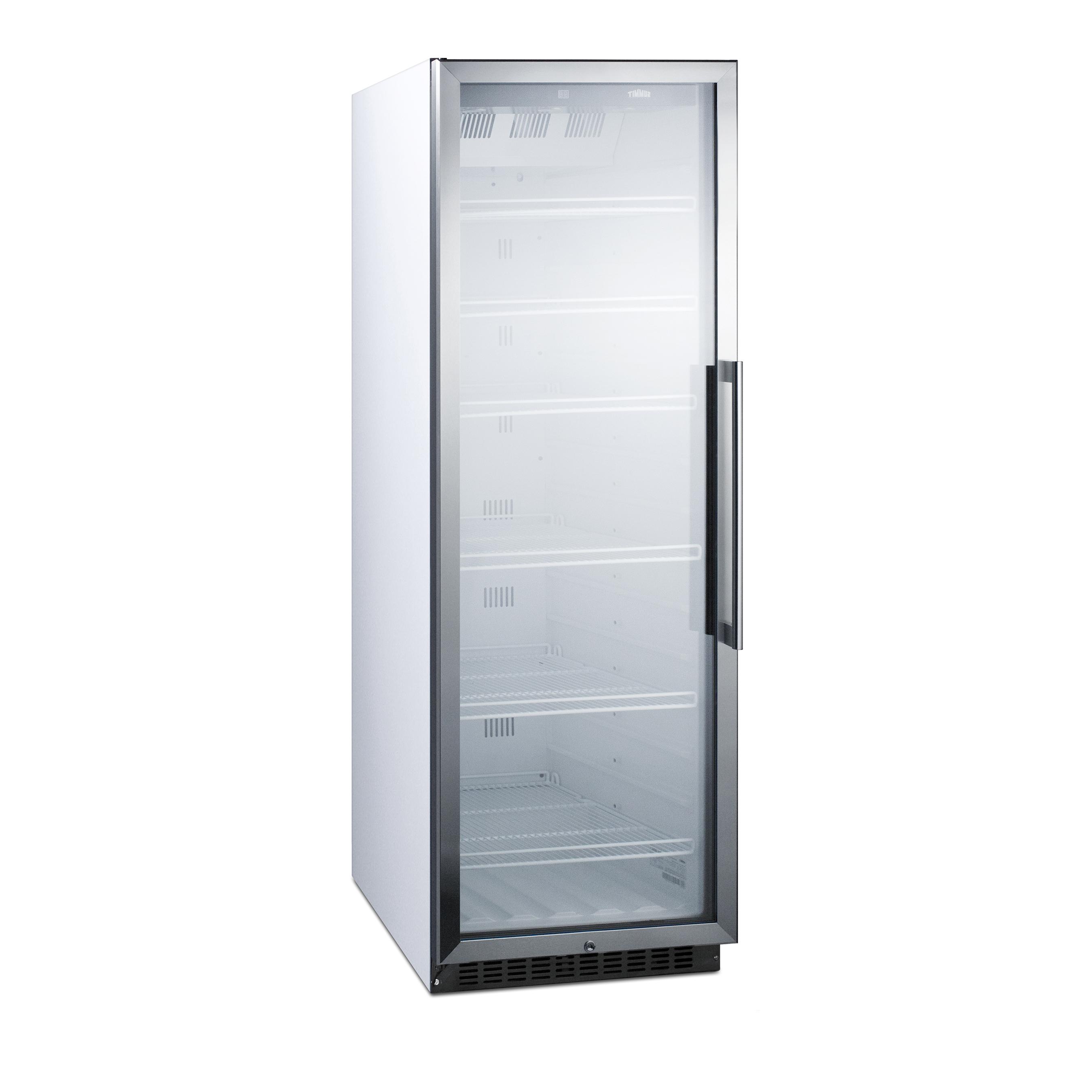 Summit Appliance SCR1400WLH refrigerator, merchandiser