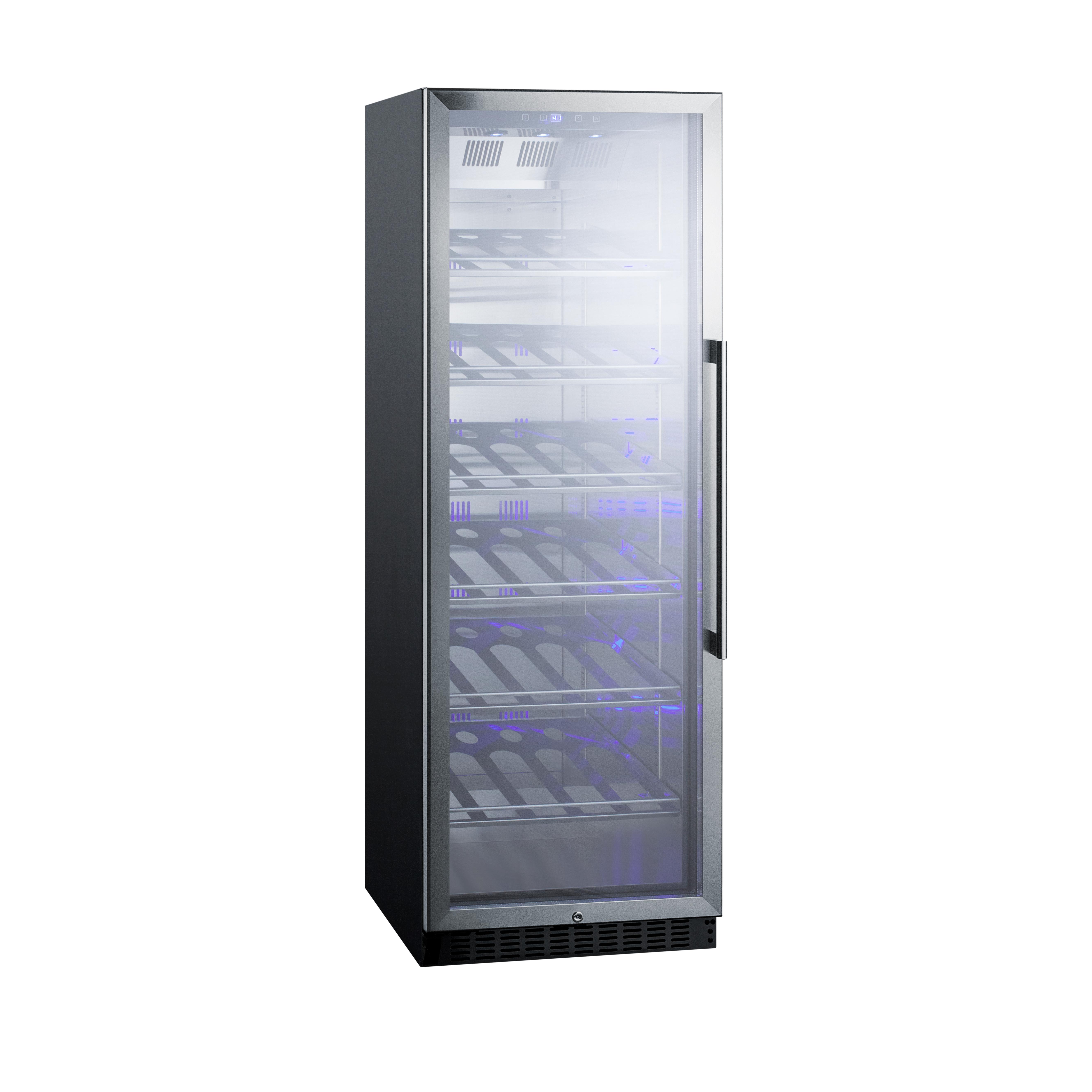 Summit Appliance SCR1401LHCH wine cellar cabinet