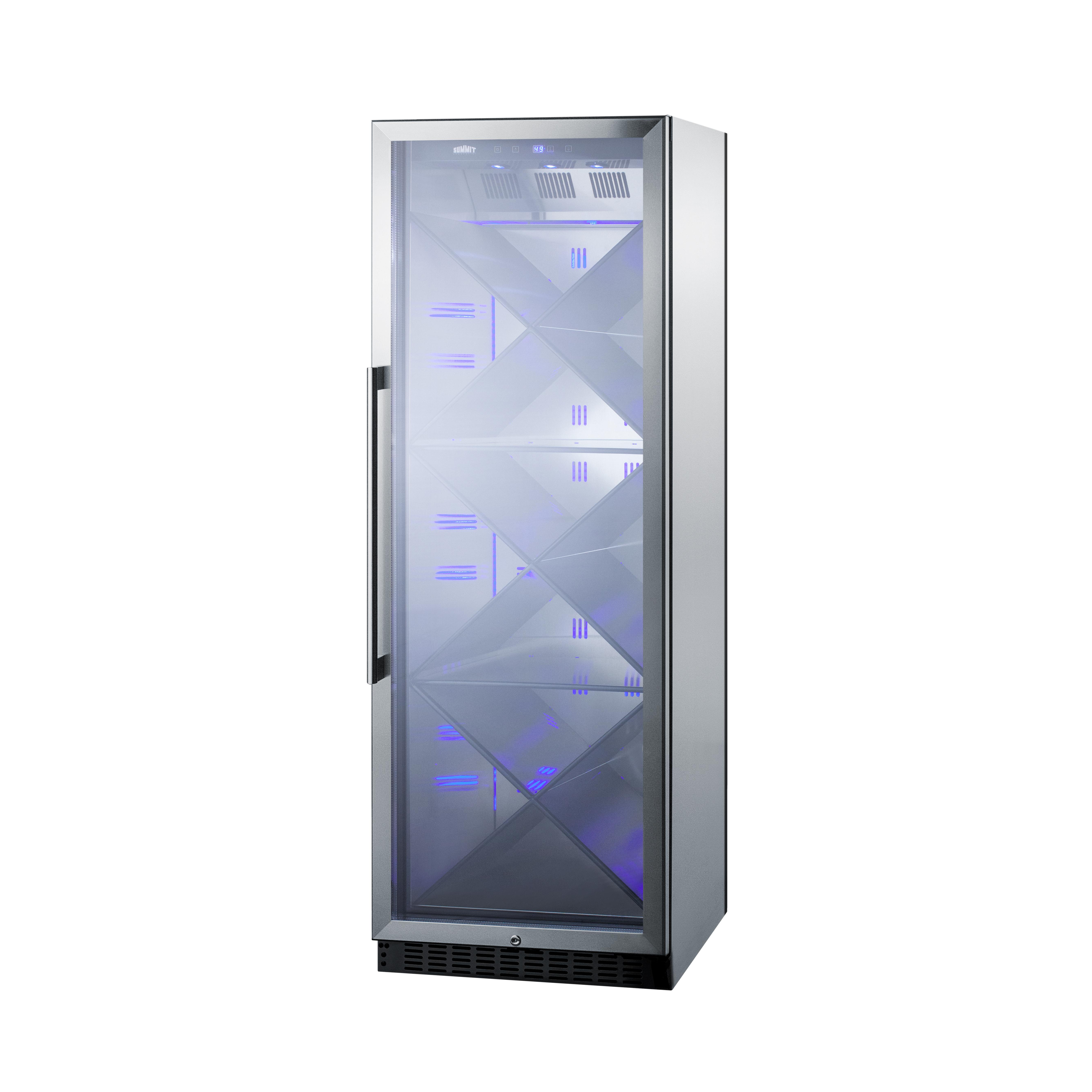Summit Appliance SCR1401XCSS wine cellar cabinet