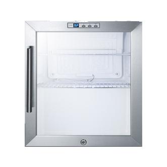 Summit Appliance SCR215LBI refrigerator, merchandiser, countertop