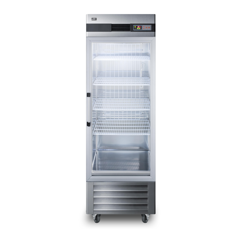 Summit Appliance SCR23SSG refrigerator, reach-in