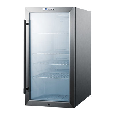 Summit Commercial SCR486LBICSS refrigerator, merchandiser, countertop
