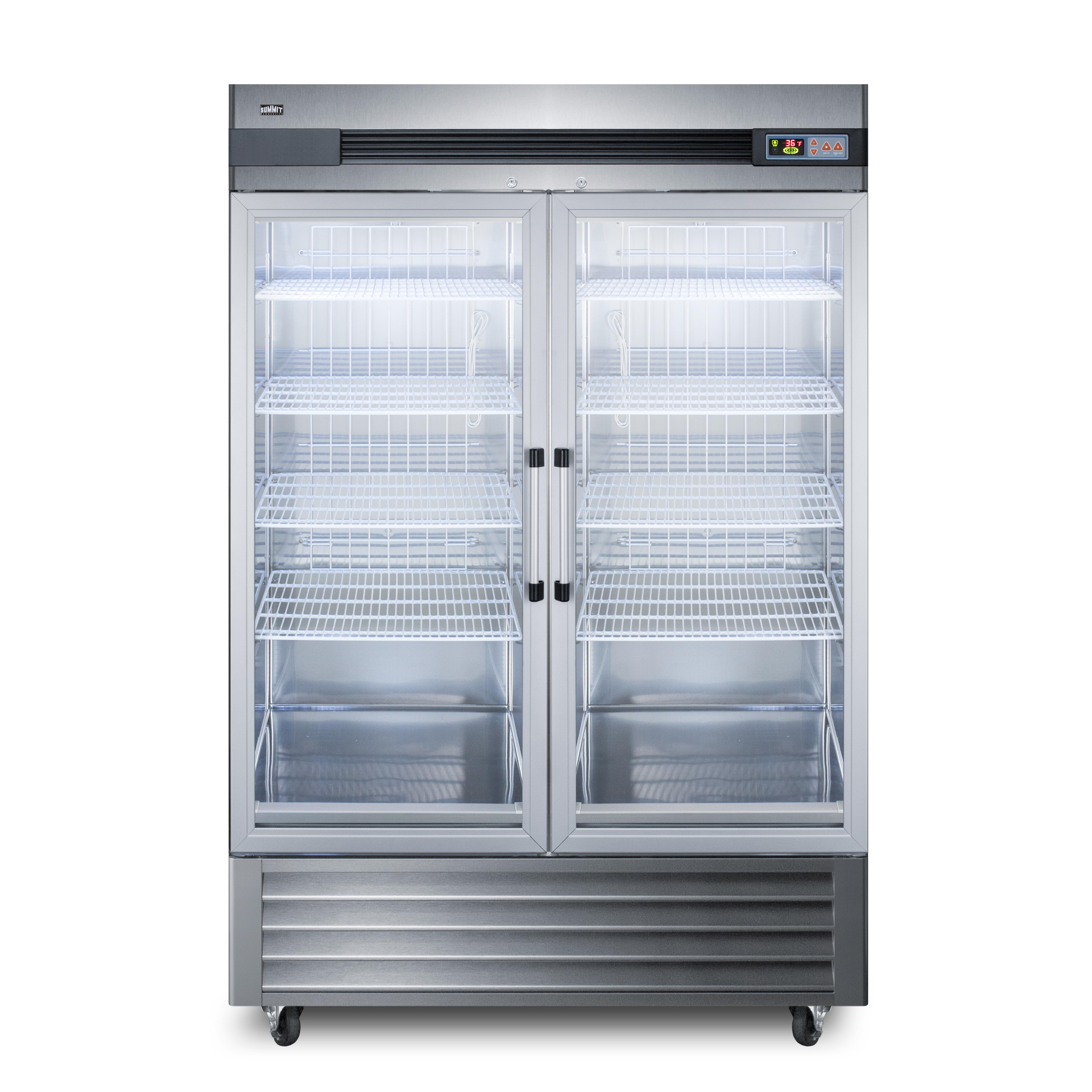 Summit Appliance SCR49SSG refrigerator, reach-in