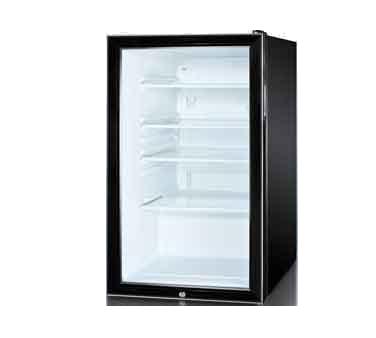 Summit Commercial SCR500BL7ADA refrigerator, undercounter, reach-in
