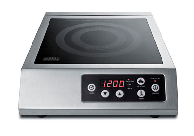 Summit Appliance SINCCOM1 induction range, countertop