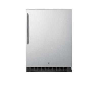 Summit Commercial SPR627OSSSHV refrigerator, undercounter, reach-in