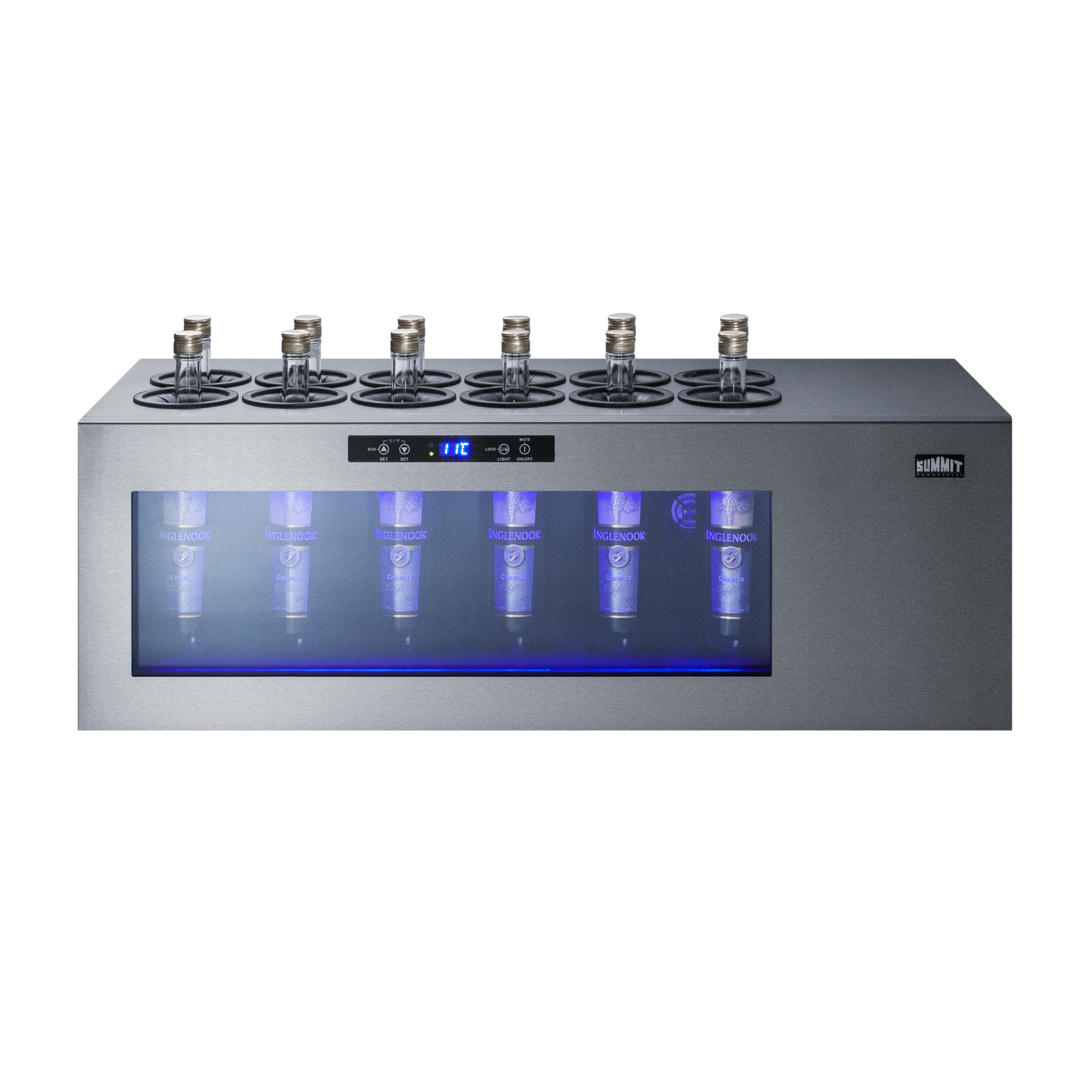 Summit Appliance STC12 refrigerator, merchandiser, countertop