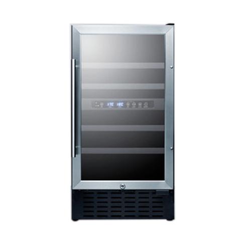 Summit Appliance SWC182ZCSSADA wine cellar cabinet