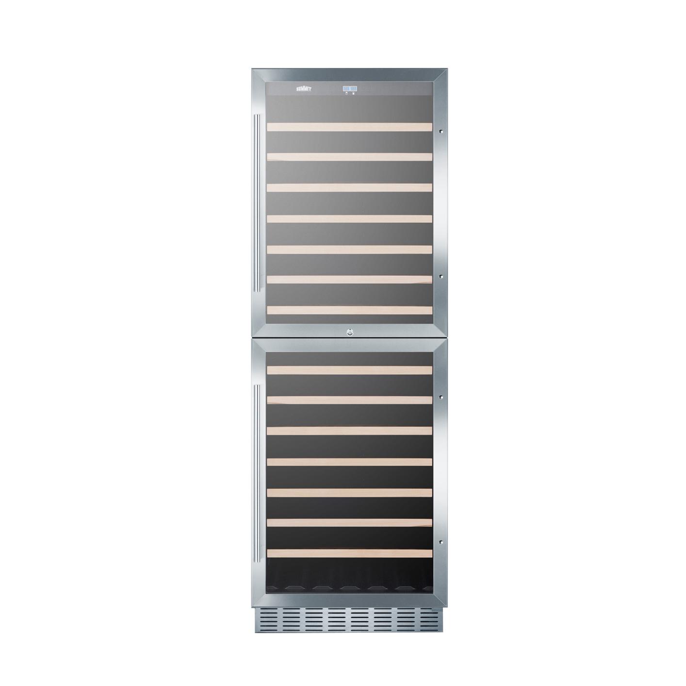 Summit Appliance SWC1875BCSS wine cellar cabinet