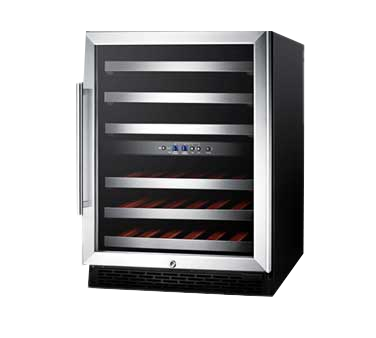 Summit Appliance SWC530BLBISTCSSADA wine cellar cabinet