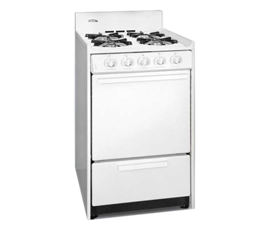 Summit Commercial WNM1107 range, residential domestic
