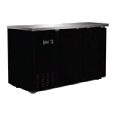 Serv-Ware BB2-24-HC back bar cabinet, refrigerated