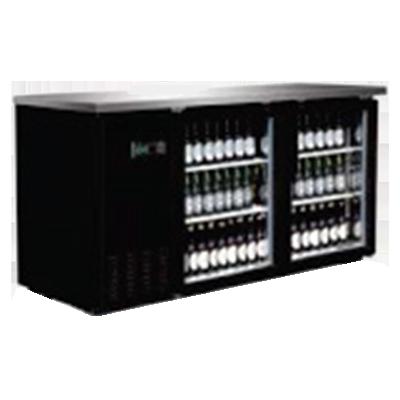 Serv-Ware BB3-24G-HC back bar cabinet, refrigerated
