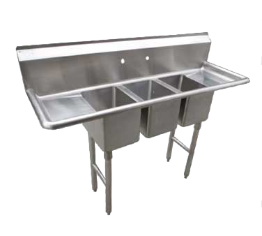 CS3CWP1410212 Serv-Ware sink, (3) three compartment
