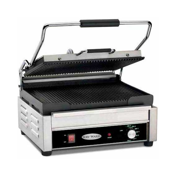 Serv-Ware EPG-100GG sandwich / panini grill