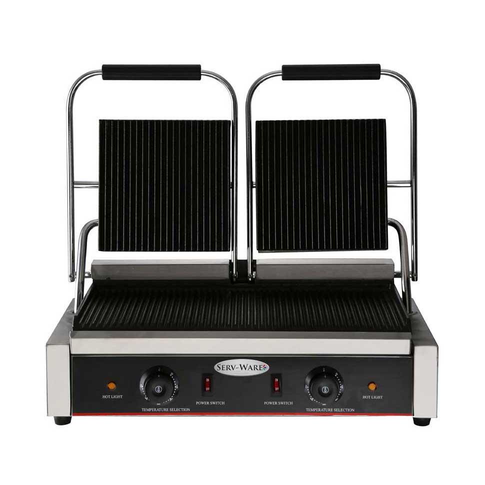 Serv-Ware EPG-200GG sandwich / panini grill