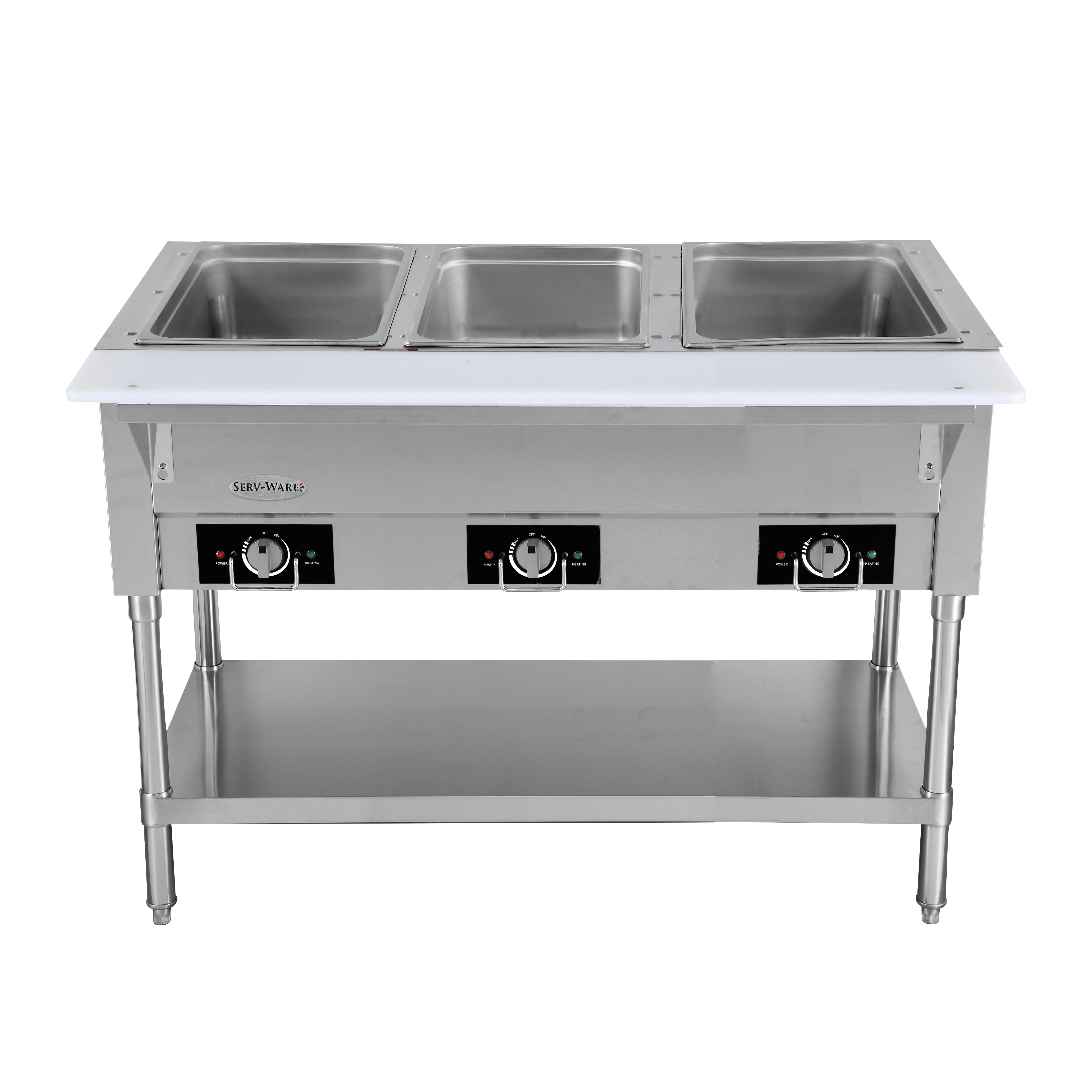 Serv-Ware EST3-1 serving counter, hot food, electric