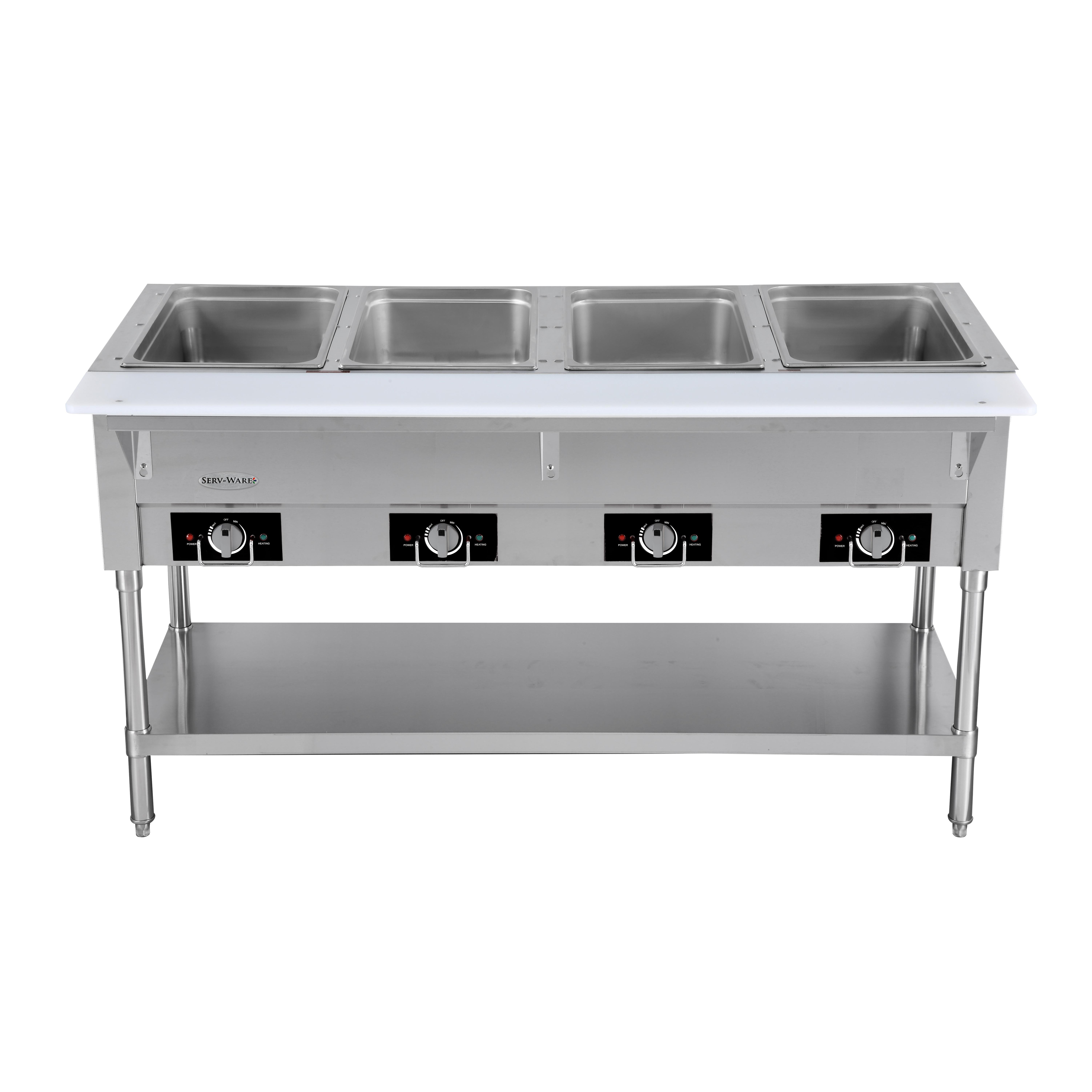 Serv-Ware EST4-1 serving counter, hot food, electric