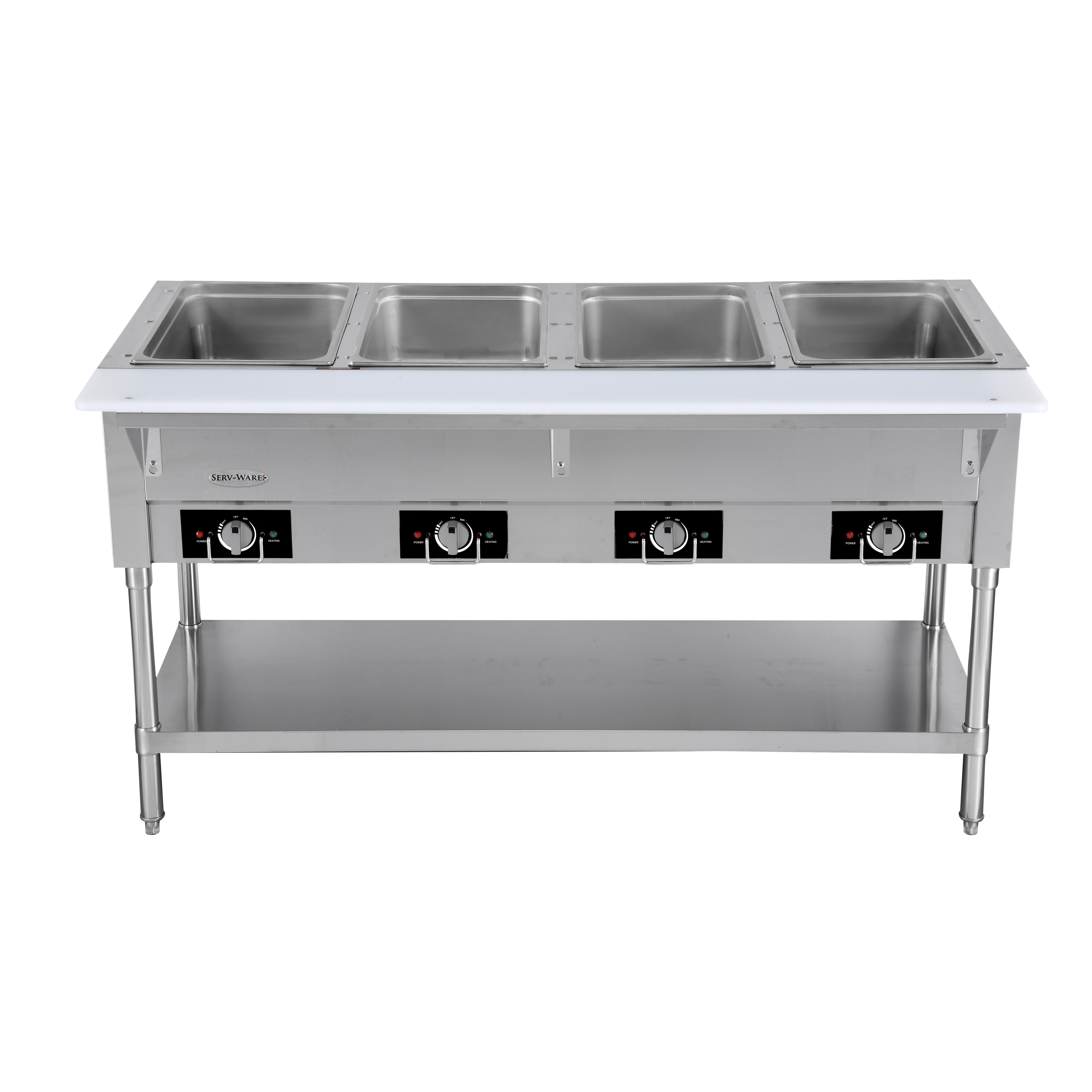 Serv-Ware EST4-2 serving counter, hot food, electric