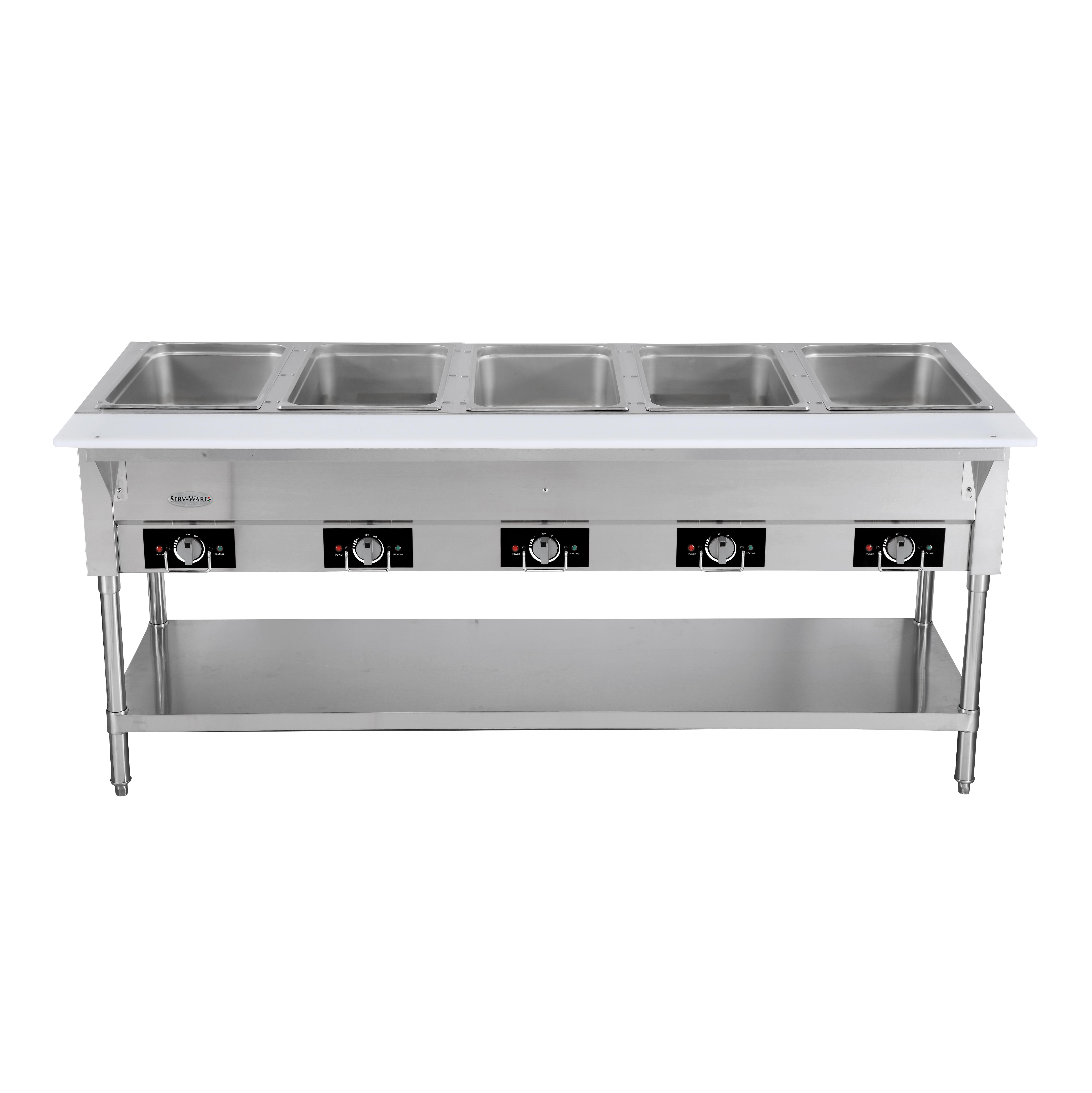 Serv-Ware EST5-2 serving counter, hot food, electric