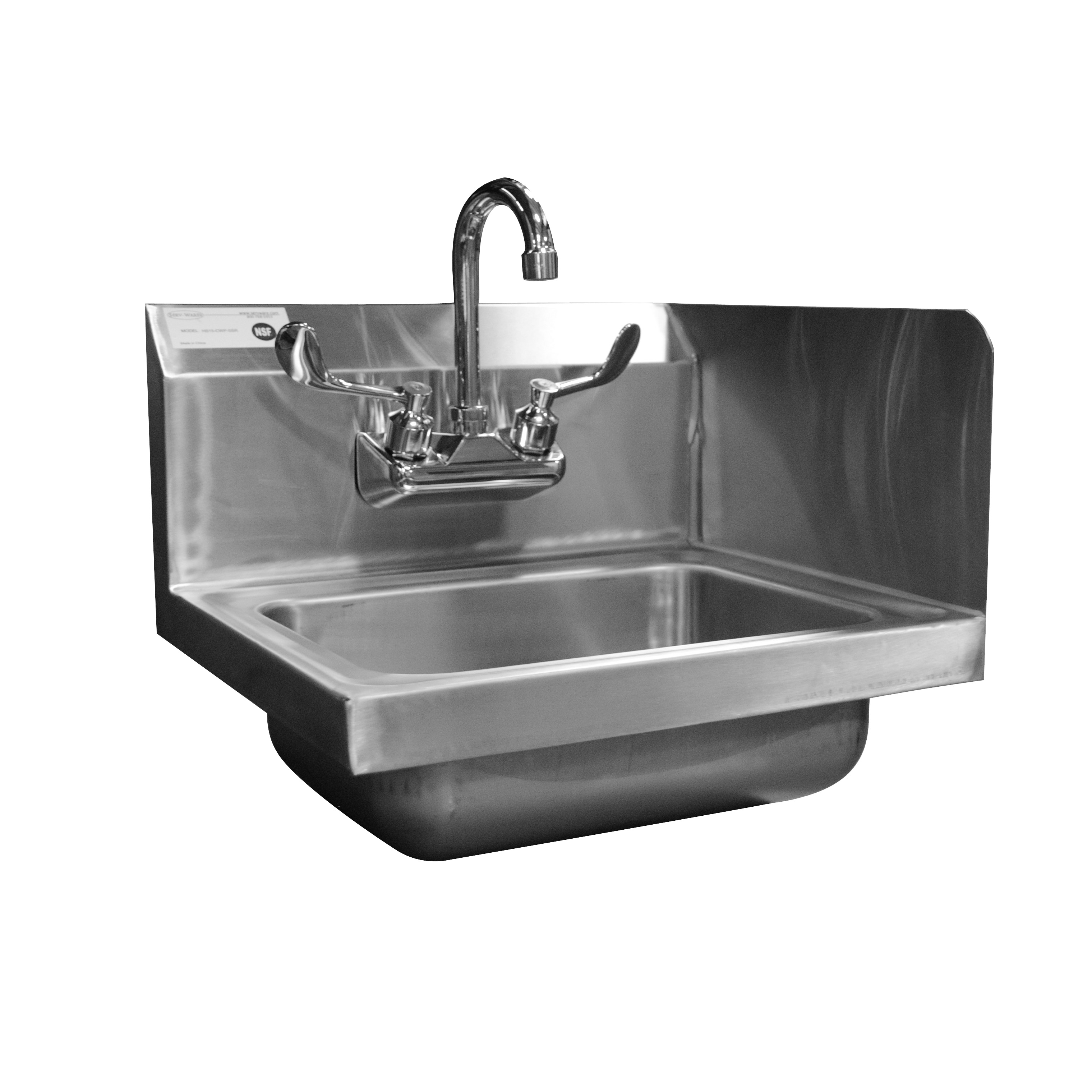 Serv-Ware HS15-CWP-SSR sink, hand