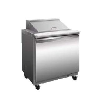 Serv-Ware SP29-12M-HC refrigerated counter, mega top sandwich / salad unit