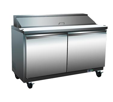 Serv-Ware SP60-8 refrigerated counter, sandwich / salad unit