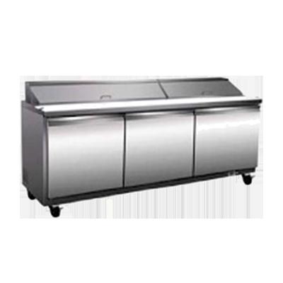 Serv-Ware SP72-18 refrigerated counter, sandwich / salad unit