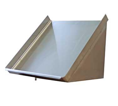 Serv-Ware SR63-CWP dishtable sorting shelf