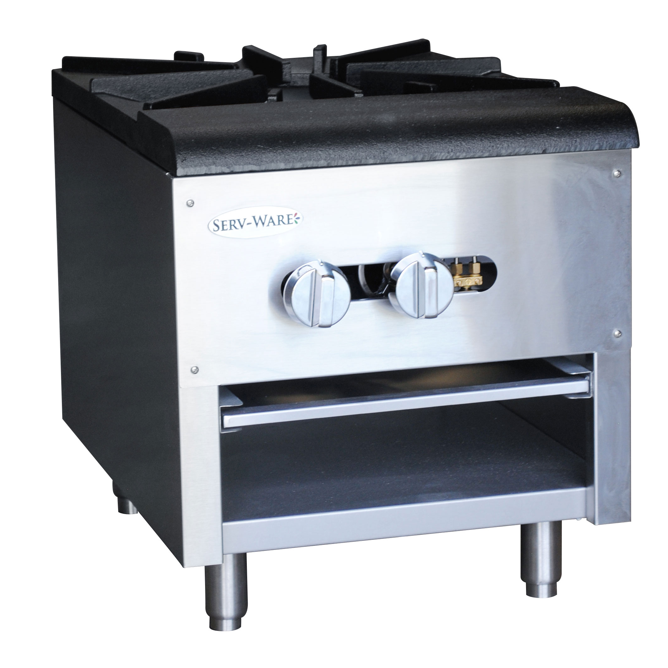 Serv-Ware SSSP-1 range, stock pot, gas