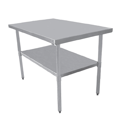 Serv-Ware T1860CWP-4 work table,  54