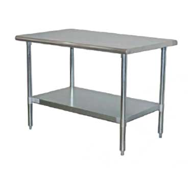Serv-Ware T2430CWP-3 work table,  30