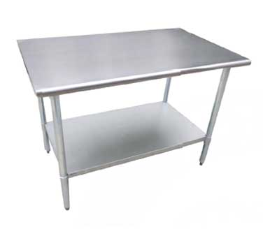 Serv-Ware T3036CWP-16S work table,  36