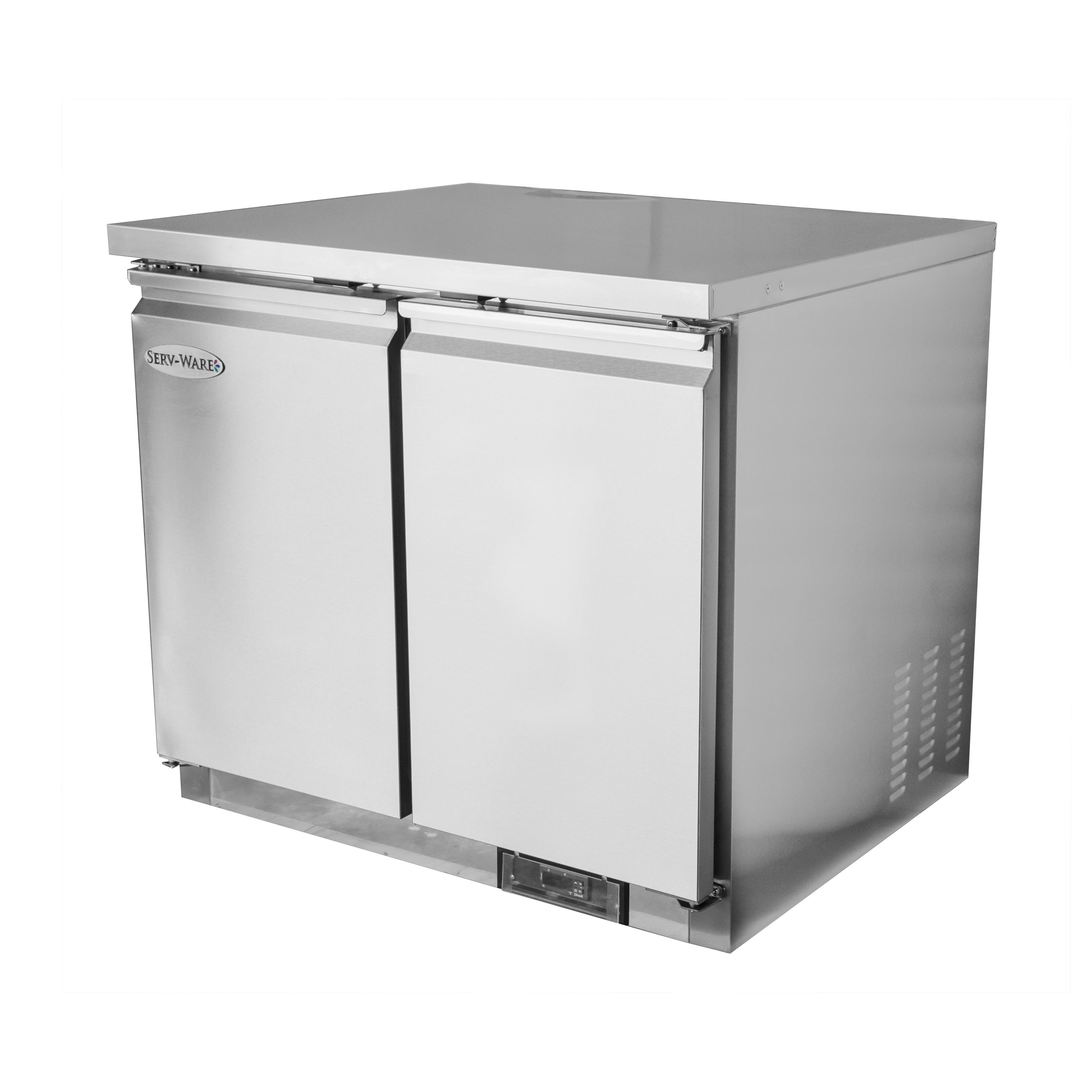 Serv-Ware UCF-36-HC freezer, undercounter, reach-in