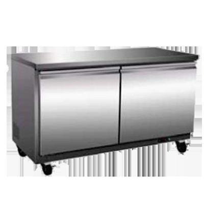 Serv-Ware UCF-60-HC freezer, undercounter, reach-in