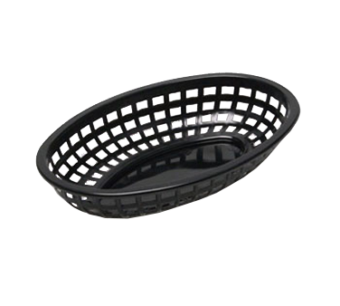 3101-16 TableCraft Products 1074BK basket, fast food