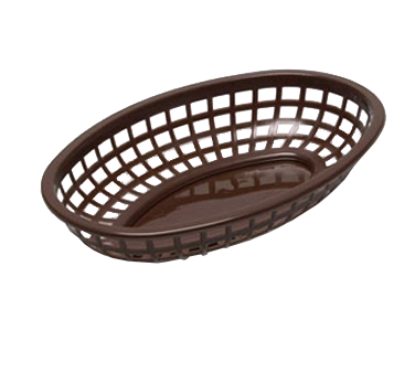 3101-02 TableCraft Products 1074BR basket, fast food